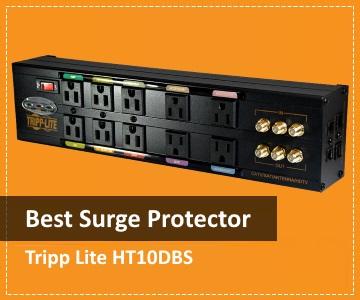 TripLite HT10DBS - Rated Best Surge Protector 2017
