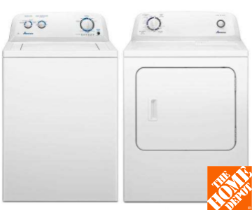 Amana Washer and Dryer Set - Best Budget Washer & Dryer Set