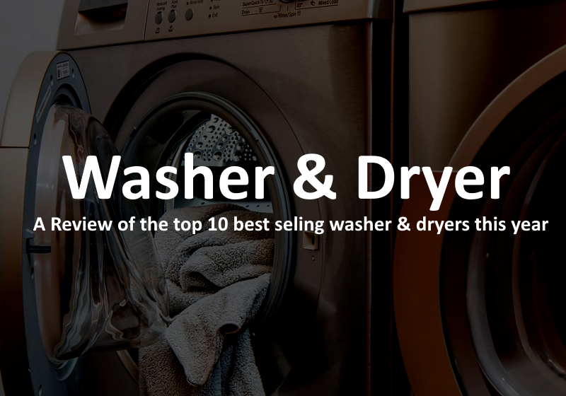 Washer And Dryer Review - Featured Image