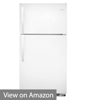 "Frigidaire FFHT1514QW 28"" Top-Freezer Refrigerator - Bust Budget Fridge"