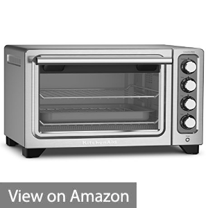 KitchenAid KCO253CU 12-Inch Compact Convection Countertop Oven - Contour Silver