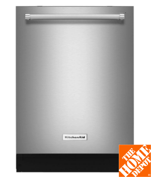 KitchenAid Top Control Dishwasher in Stainless Steel with Stainless Steel Tub, ProWash Cycle, 46 dBA