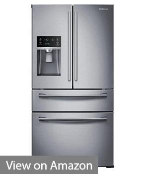 SAMSUNG RF28HMEDBSR French Door Refrigerator, 28 Cubic Feet