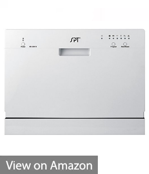 SPT Countertop Dishwasher - Best Portable / Space Saving Option