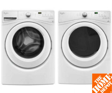 Whirlpool Front Load Washer & Dryer Set